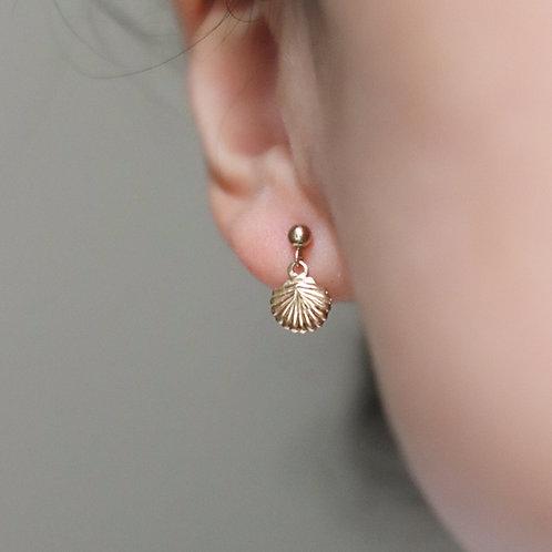 Moana - Shell Earrings Small