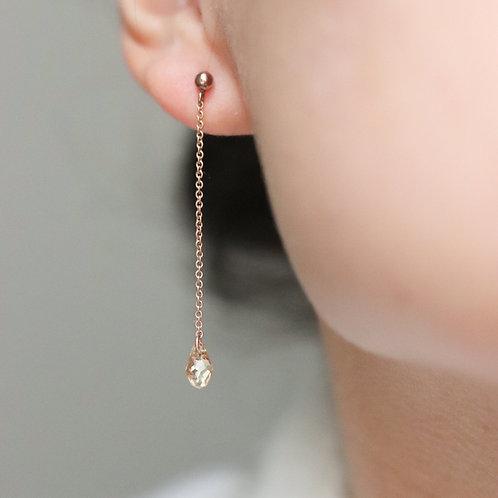 Hanna - Swarovski Drop Earrings