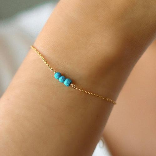 Seychelles - Turquoise Bracelet