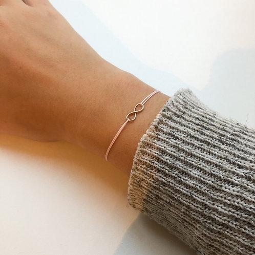 Magda - Infinity Fabric Bracelet