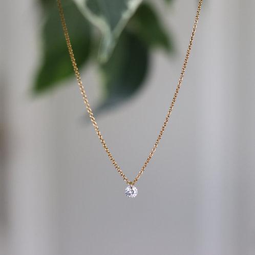 Leonie - Zirconia Necklace