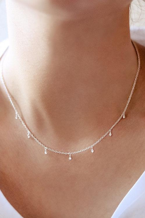 Rachel - Tiny Swarovski Necklace