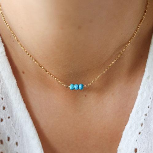Seychelles - Turquoise Necklace