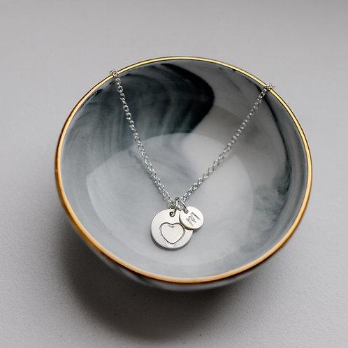 Lexie - Personalized Motive Disc Necklace