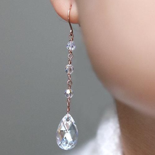 Blair - Crystal Chandelier Earrings