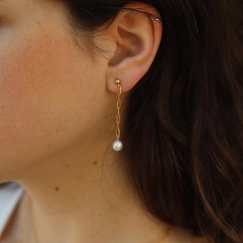 Carrie - Freshwater Pearl Earrings
