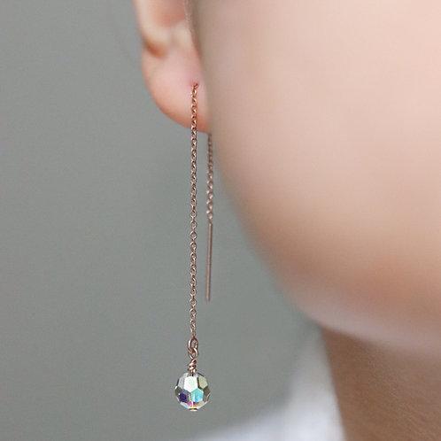 Luise - Swarovski Threader Earrings