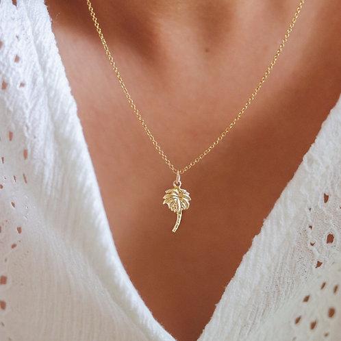 Bali - Palm Tree Necklace