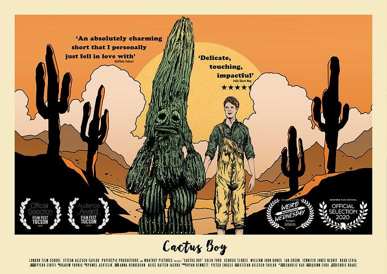 cactus-boy-poster-a3-landscape-laurels-2