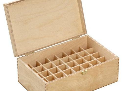 Holzbox für für 40 Ölefläschen (5 ml)
