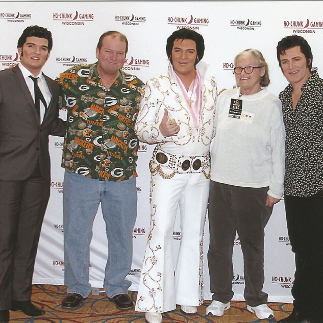 Elvis(s), my mom, and Me