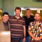 Dan Diebert, Johnny Beehner, and Lee Lycan