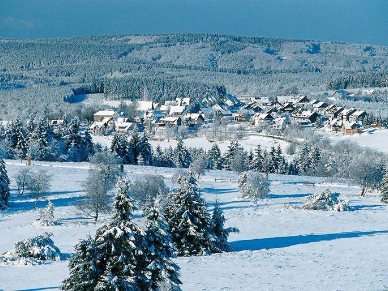 Wie houdt van sneeuw en vorst kan zijn hart ophalen in Winterberg