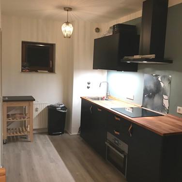 Kappeberg Lodge is voorzien van een moderne keuken