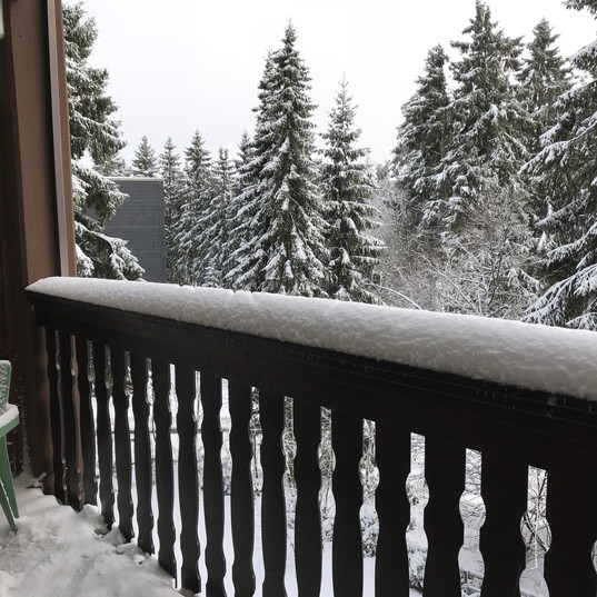 Kappeberg Lodge beschikt over 2 terrassen