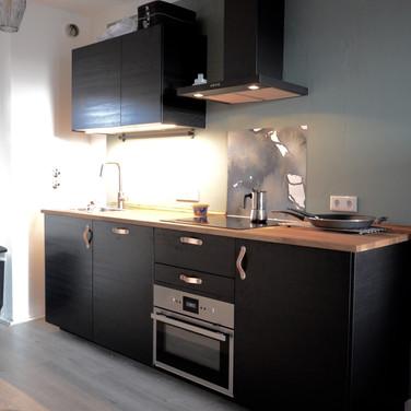 Kappeberg Lodge heeft een moderne keuken