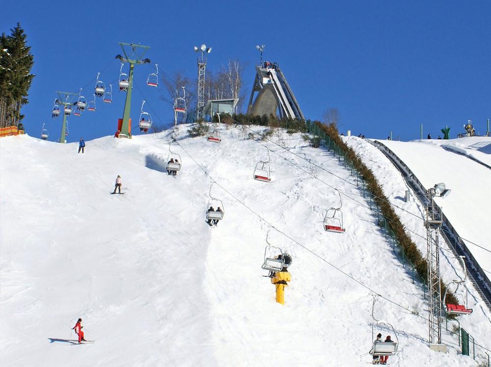Skien Skiliftkarussell Winterberg