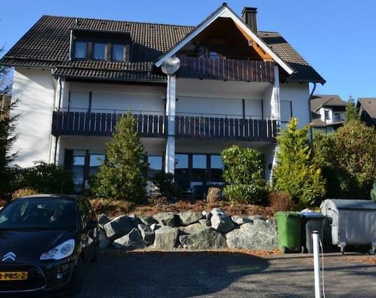Winterberg Lodge in de zomer