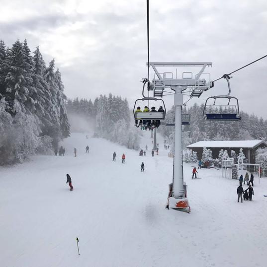Weekend skien Winterberg