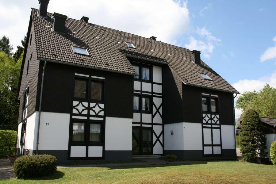 Poppenberg Lodge is een ruim appartement in Winterberg voor maximaal 8 personen.