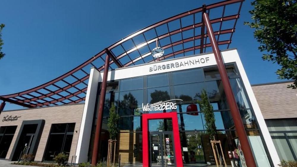 Trein naar Winterberg