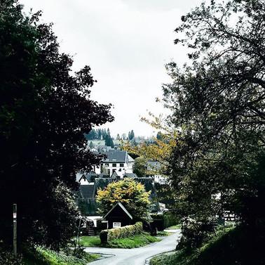 Uitzicht op Winterberg