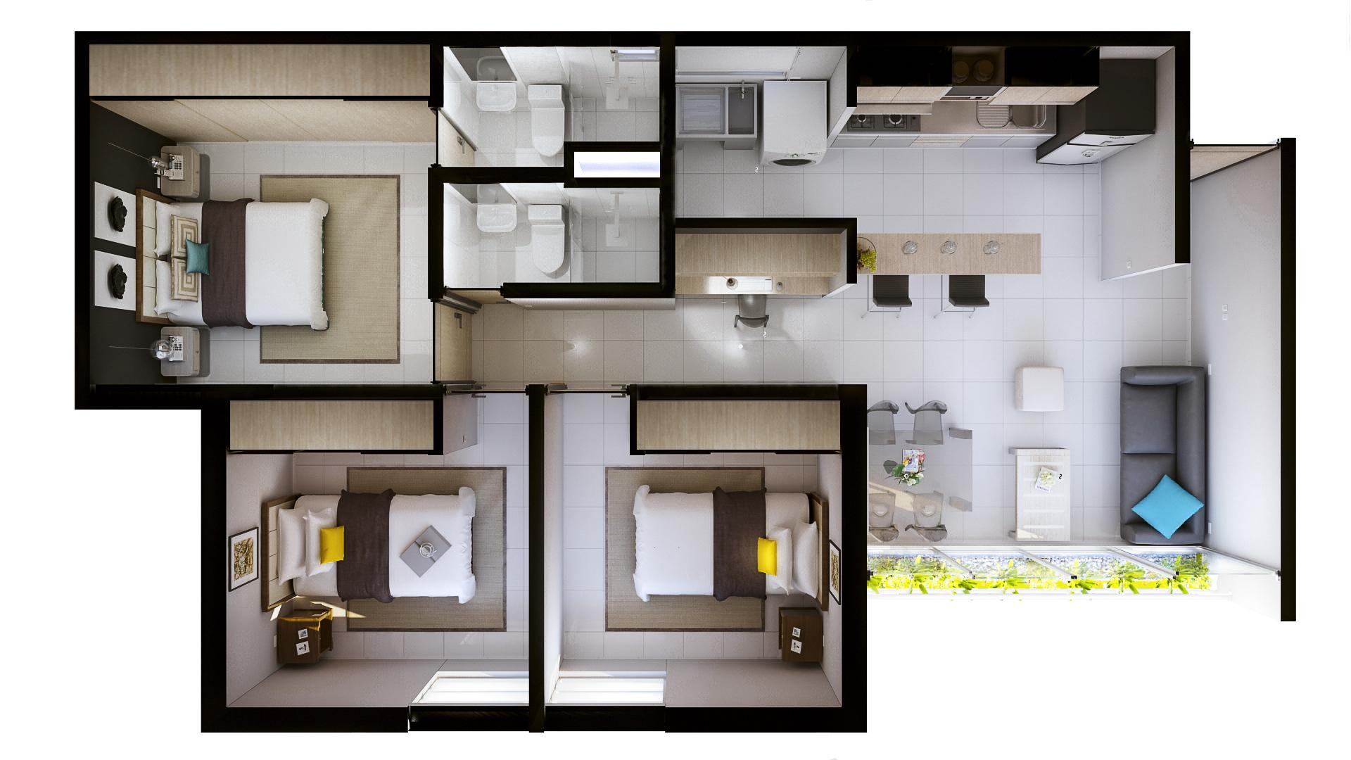Diseño de apartamentos