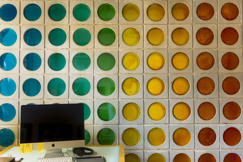 Muro en colores