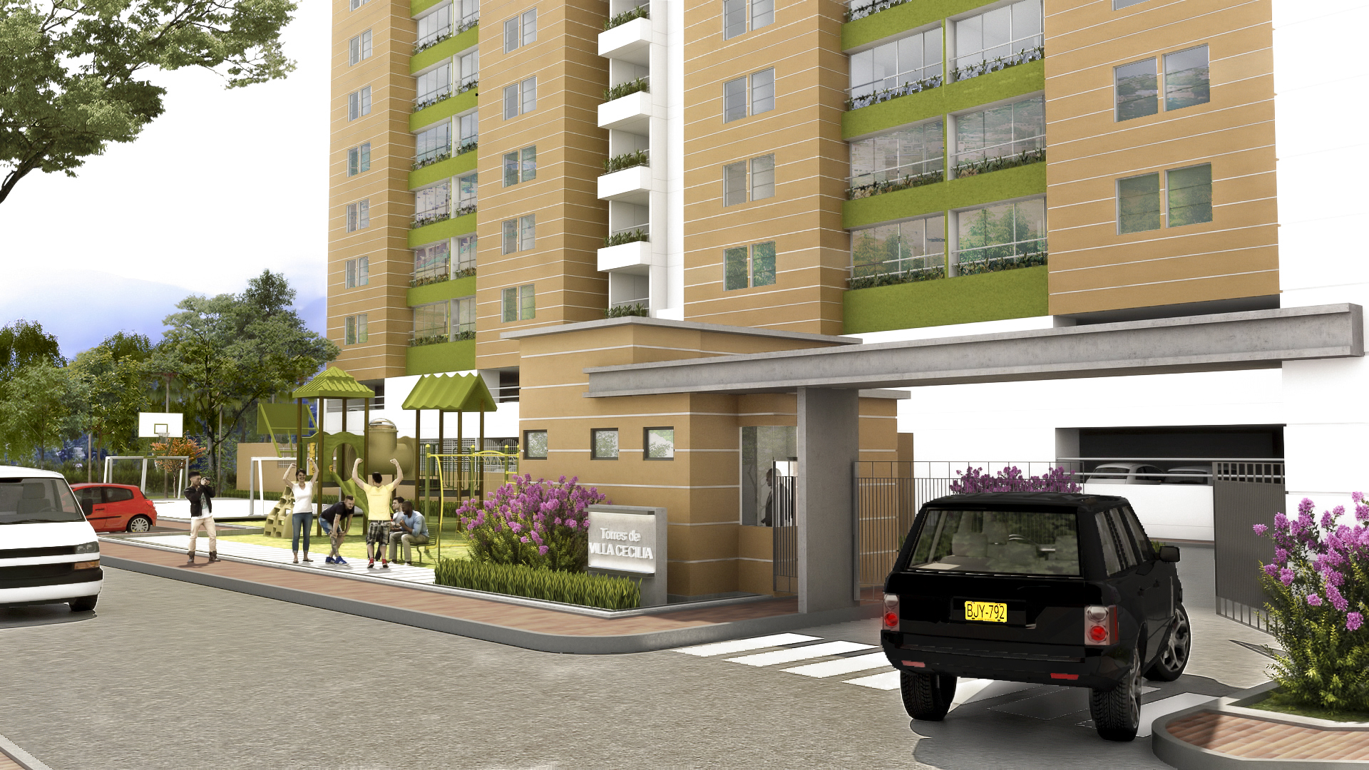 Conjunto residencial en Cúcuta