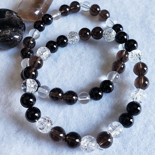 Fibro Assist Bracelet w/Cracked Quartz