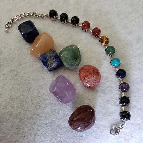Chakra Bracelet - One size fits most
