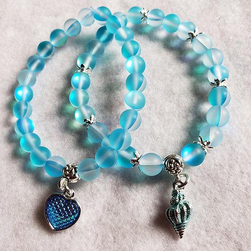 Blue Mermaid Quartz Bracelet
