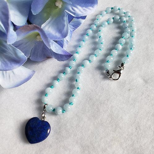 Dyed Quartz Necklace