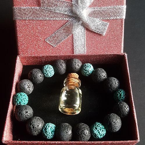 Lava Stone Aromatherapy Gift Set