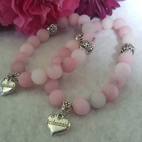 Pink Blossom Jasper Bracelet