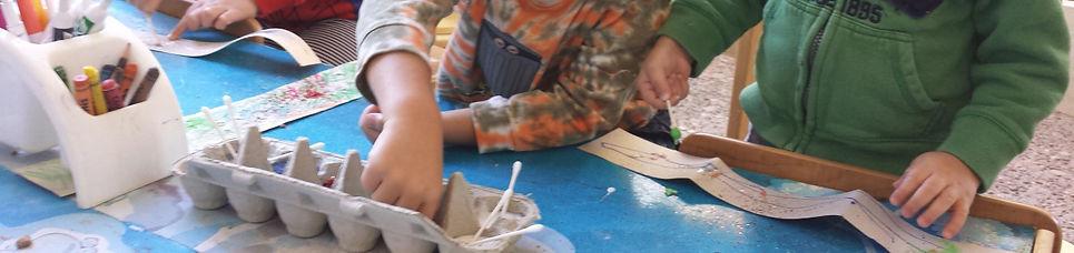 Children's Discovery Center Austin Preschool Nature-based Strip Art Reggio Emilia