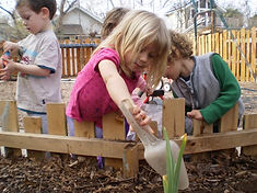 Children's Discovery Center Central Starburst Nature-based Austin Preschool Reggio Emilia