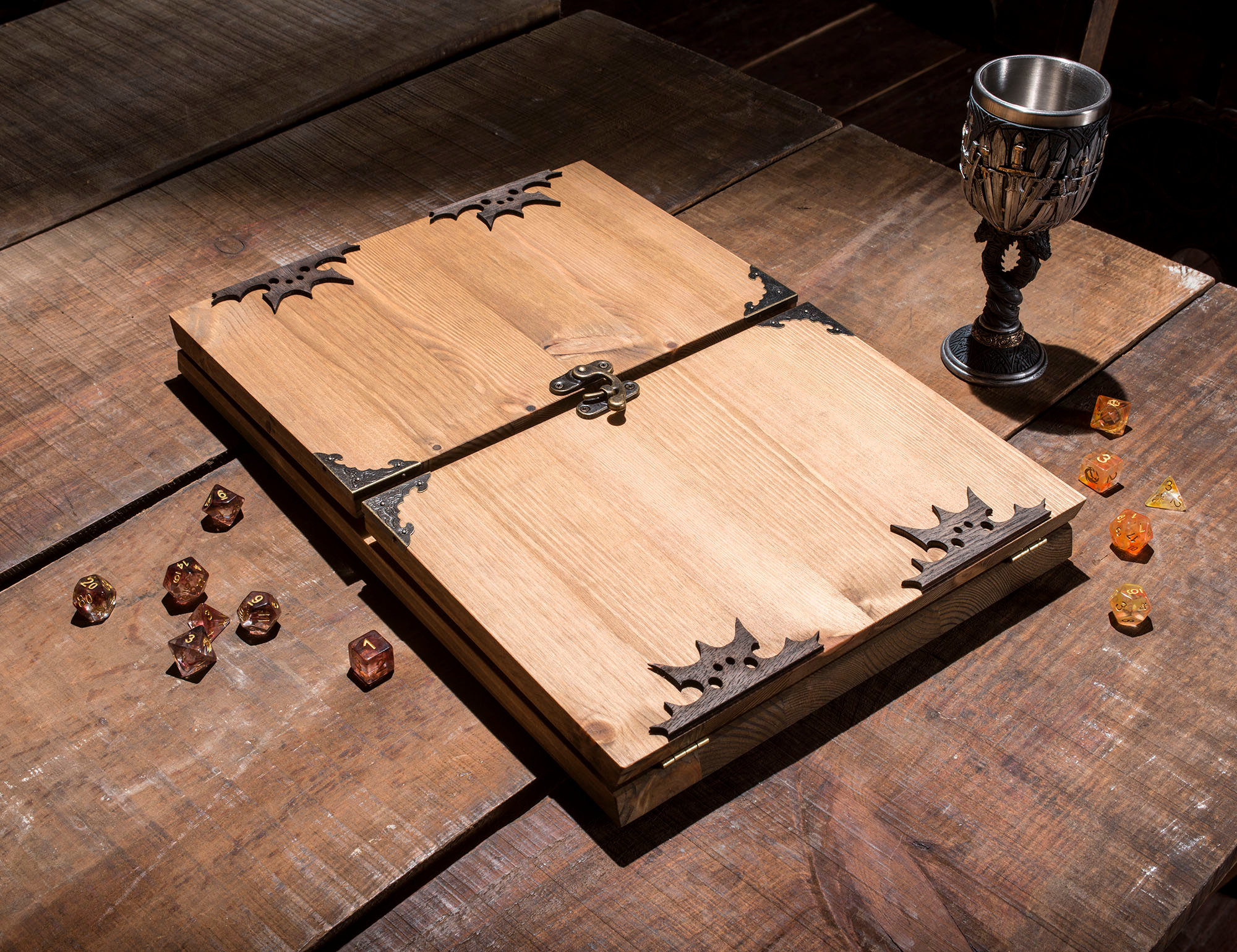 Tree of Life Wooden Dungeon Master Screen