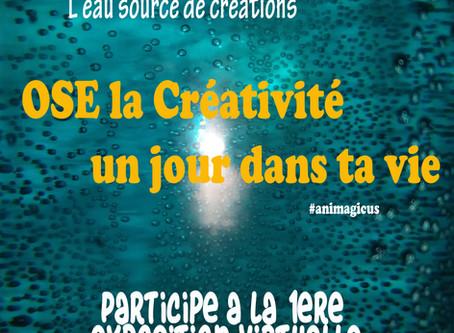 Ose la créativité un jour dans ta vie