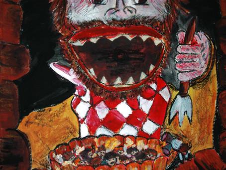 Connais-tu la légende de l'ogre qui sortait du tableau ?