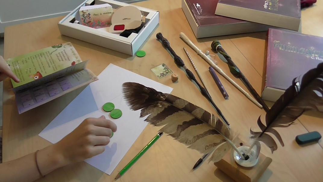 Des livres, des jeux... des créations pour t'aider à créer