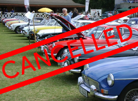 Event Cancellations - Covid19 Update