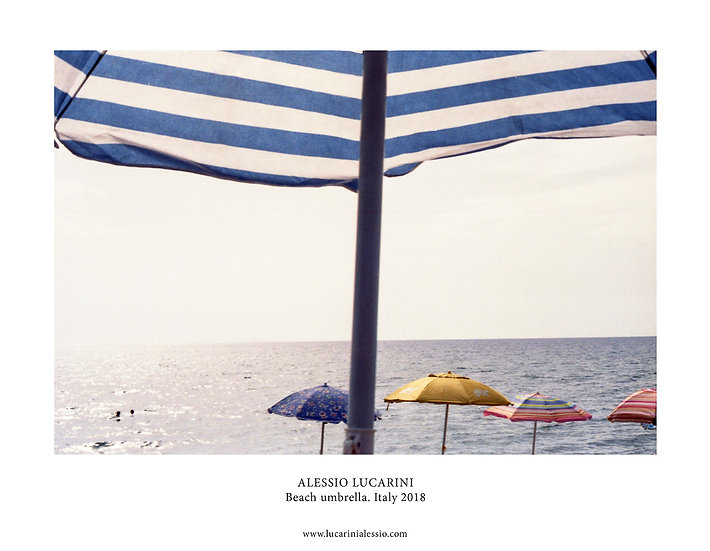Beach Umbrella. Italy 2018
