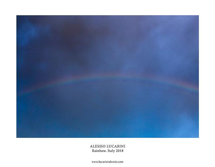 Rainbow. Italy 2018
