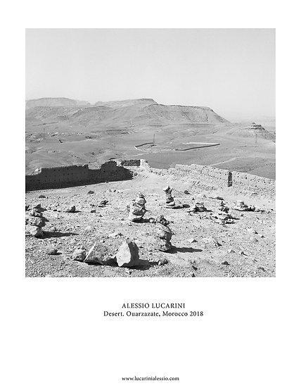 Desert. Ouarzazate, Morocco 2018