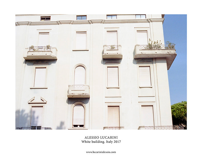 White Building. Italy 2018
