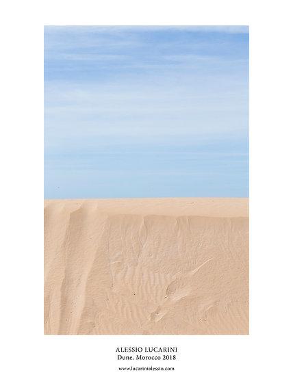 Dune. Morocco 2018