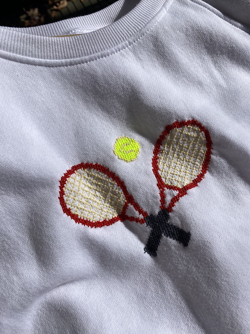 Tennis Cross-Stitch