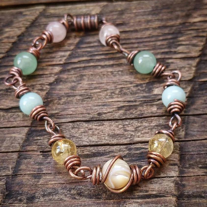 WIRE N WINE: Energy Bracelet