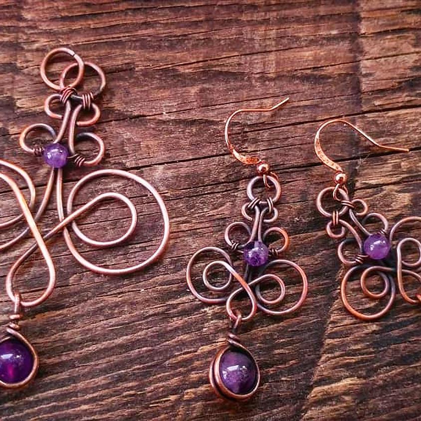 WIRE and WINE- Jewelry Set